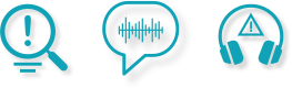 Ear of the Customer and Agent Voice Quality Monitoring